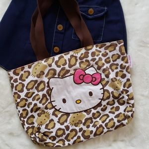 Hello Kitty Tote with two inner pockets